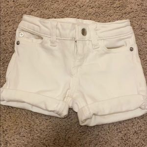 DL1961 Piper cuffed shorts in White
